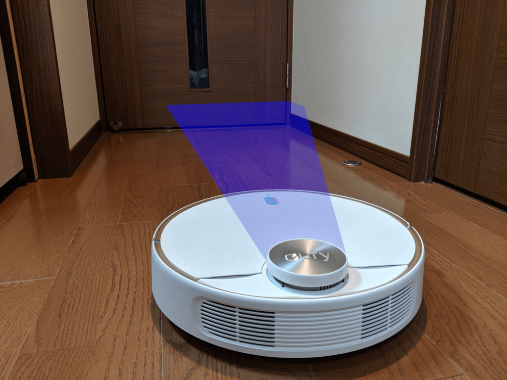 Eufy RoboVac L70 Hybrid_レーダー